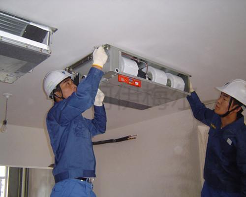 中央空调安装技术有很多指标,选择中央空调安装公司要看资质