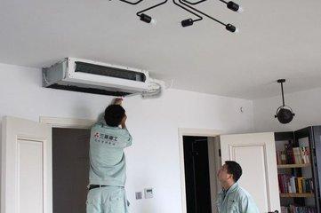 家用中央空调清洗的步骤方法,应该做到规范清洗中央空调